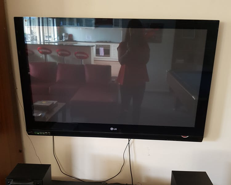 "50"" Television in the Games Room"