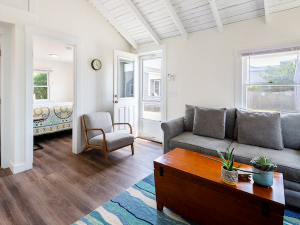 Truro Beach Cottages - Cottage #7 - living space