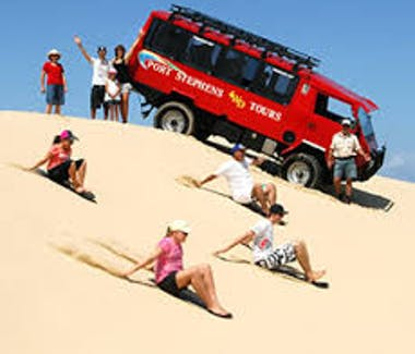 Port Stephens 4WD Tours and Sandboarding