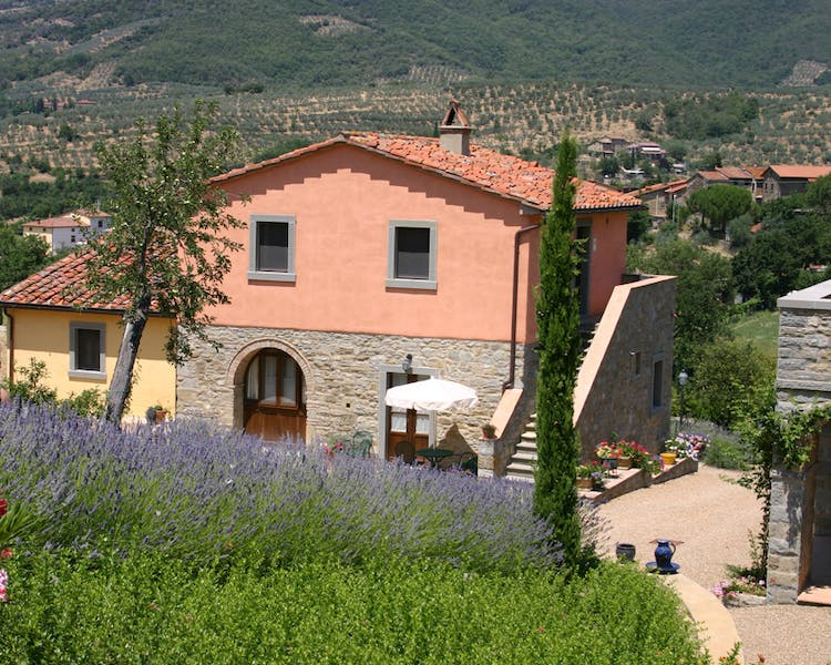 Casa Portagioia Tuscany bed and breakfast , from pool of andreocci and Funghini