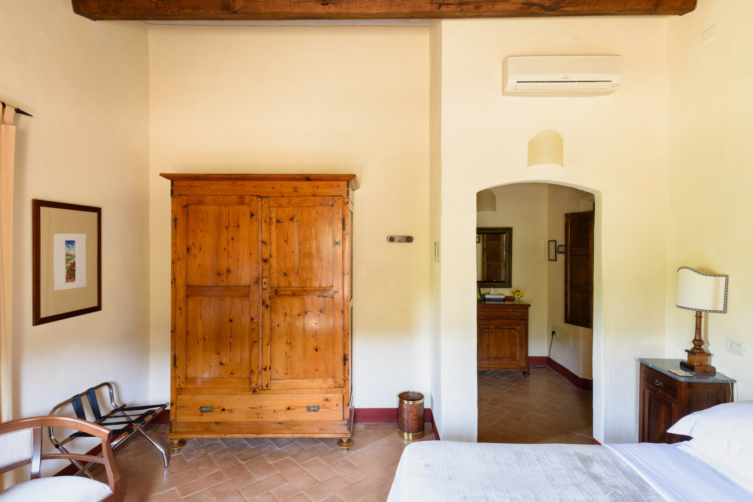 Casa Portagioia Tuscany bed and breakfast , Grilandi double bedroom