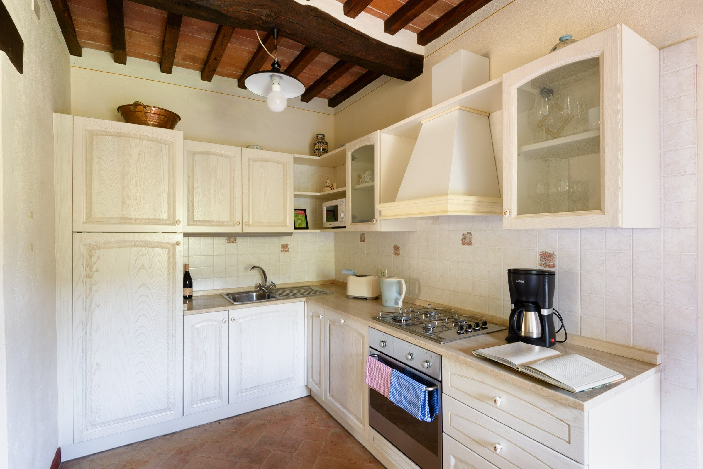 Casa Portagioia Tuscany bed and breakfast , Andreocci suite kitchen facilities