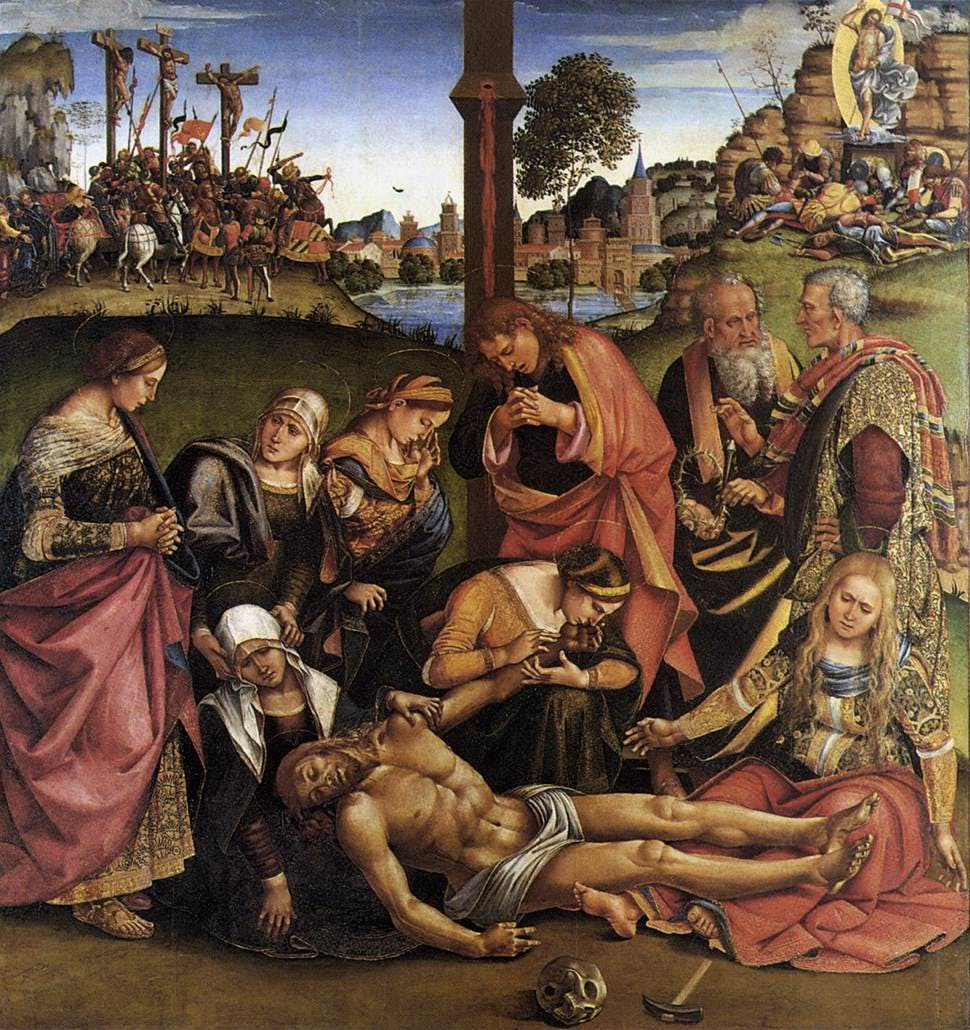 Luca signorelli Communion of the Apostles
