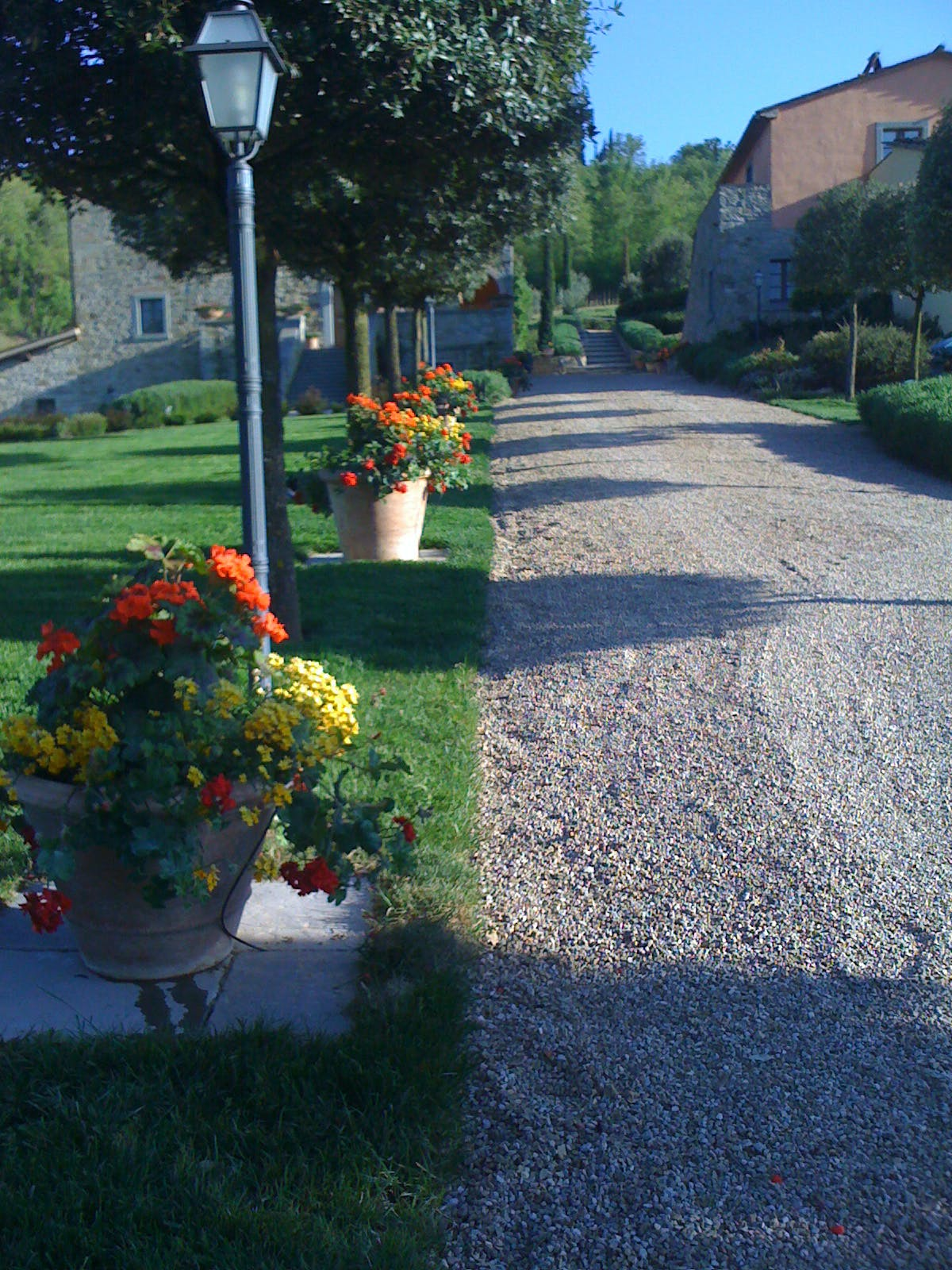 Casa Portagioia Tuscany bed and breakfast , gardens