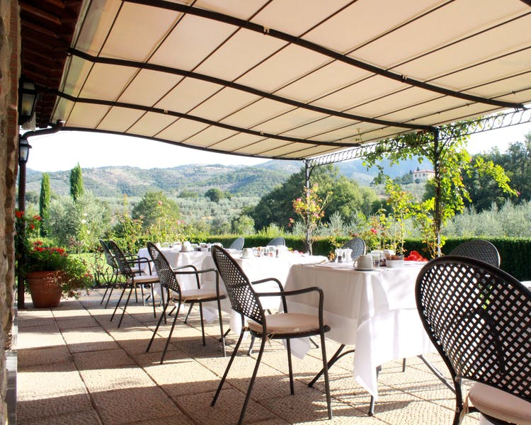 Casa Portagioia Tuscany bed and breakfast , Dinner settings