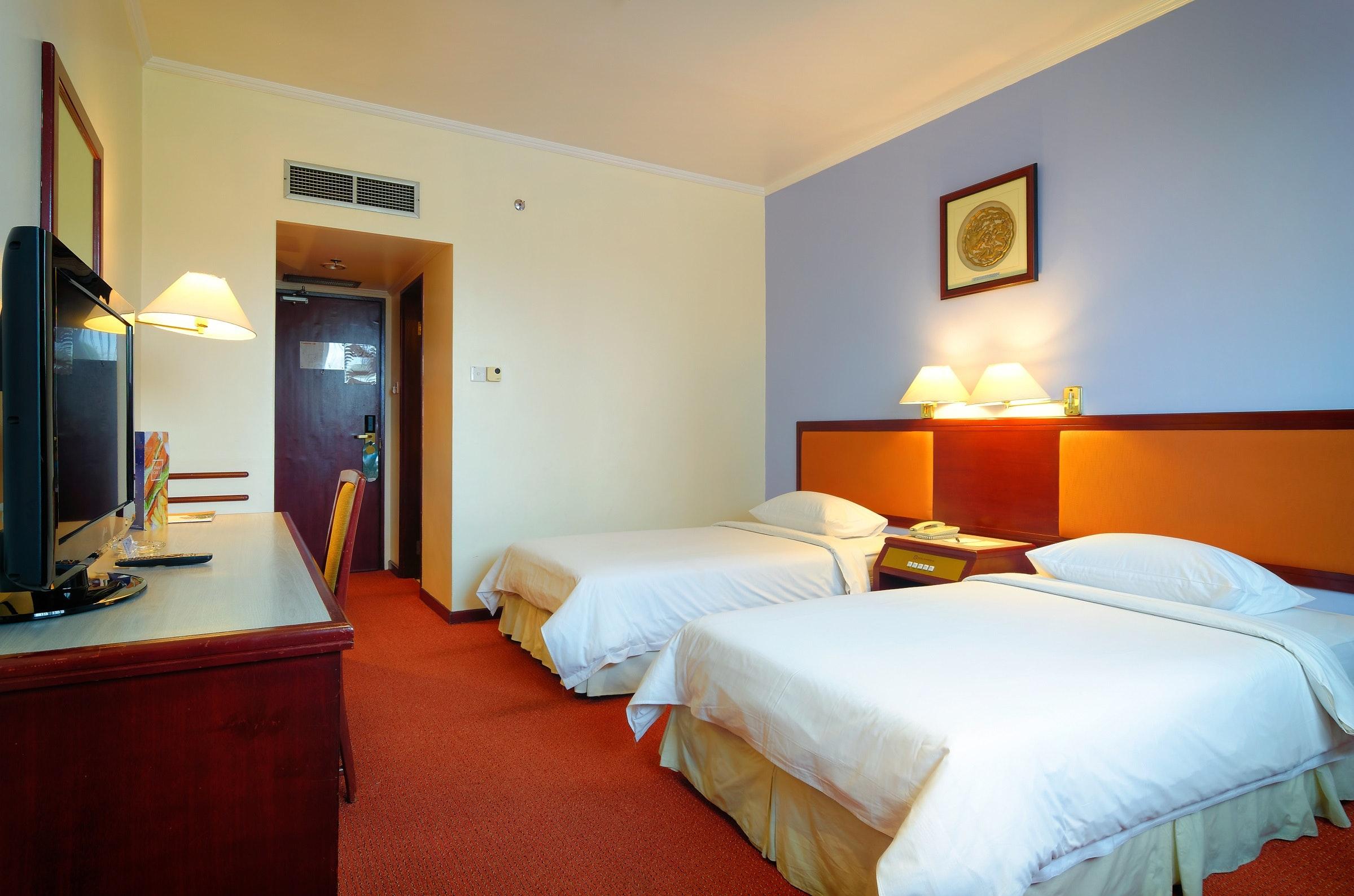 Economy Twin Room Hotel Shangri La Kota Kinabalu