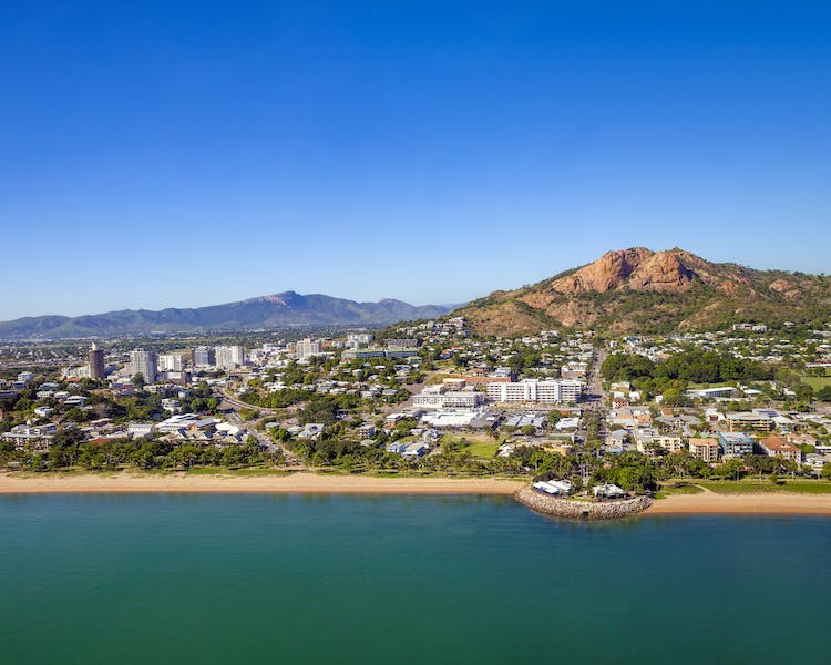 Aerial view Magnetic Island