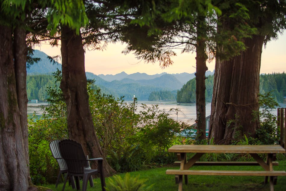 The shoreline tofino oceanfront views boutique hotel