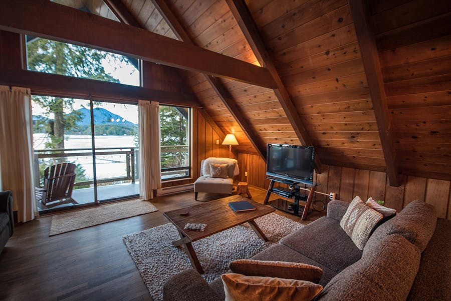 the shoreline tofino aframe house cabin
