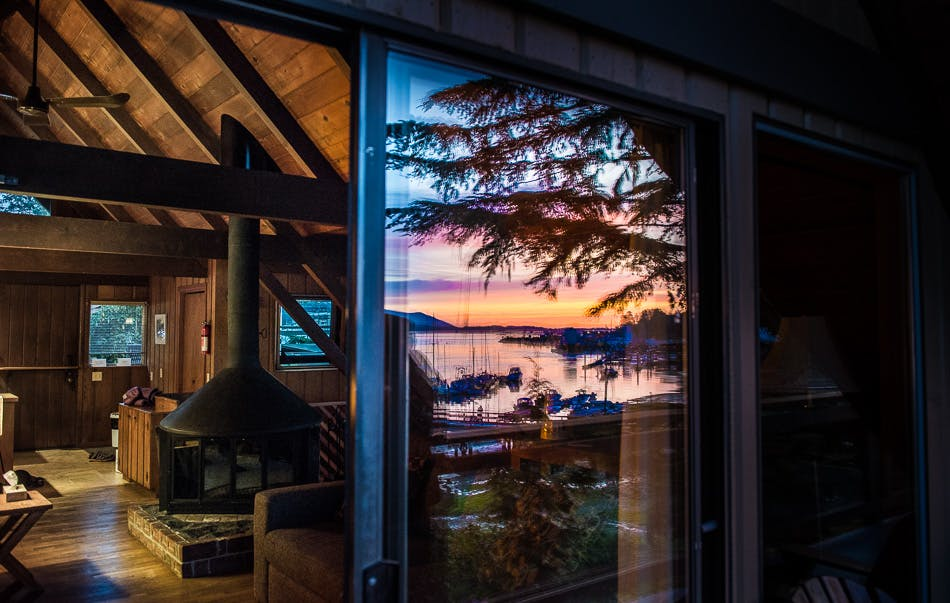 Reflections - the shoreline tofino boutique hotel