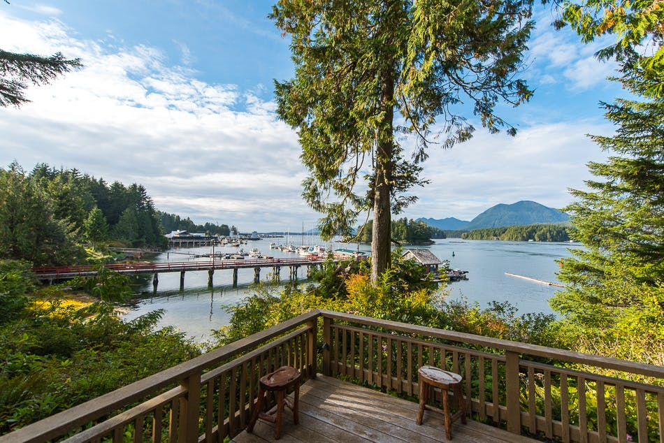 Oceanfron views - the shoreline tofino boutique hotel