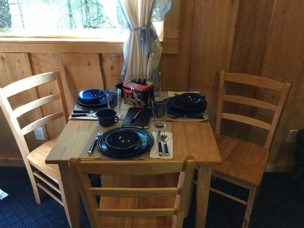 Cabin #8 dining