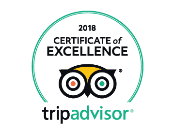 We've been Certified by TripAdvisor!