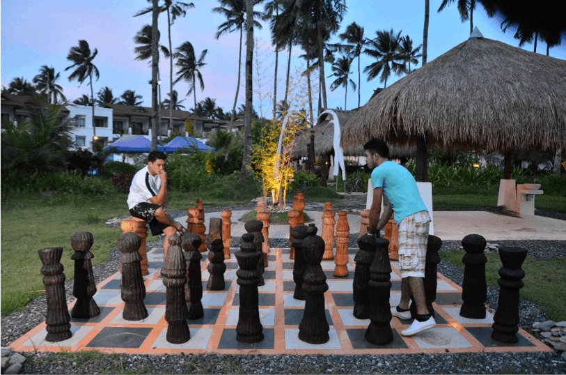 Life Size Chess at Princesa Garden Island