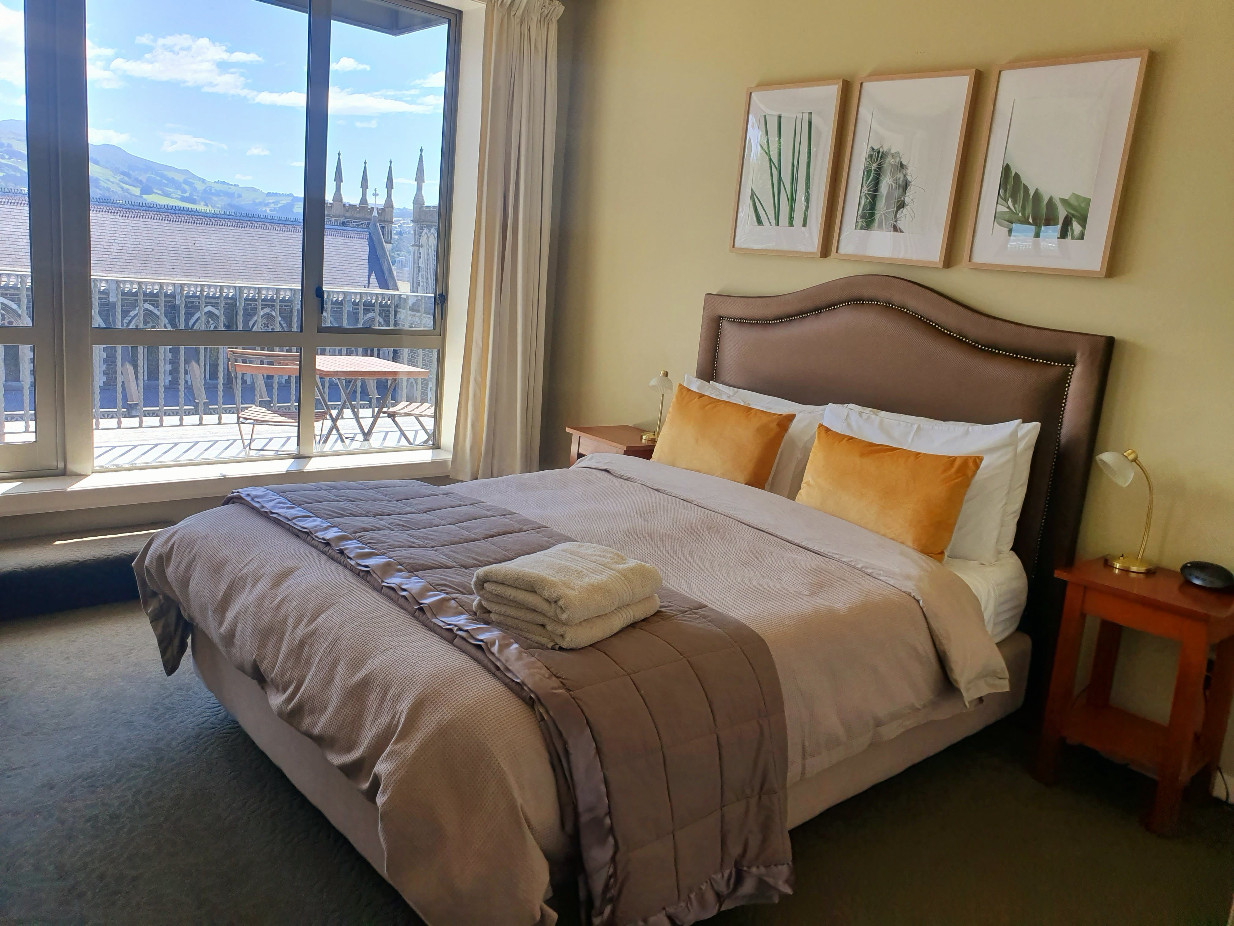 One of our Superior Queen balcony rooms