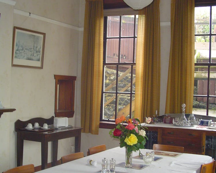 The original Dining room The Brothers Boutique Hotel Heritage building Brothers Hotel Dunedin