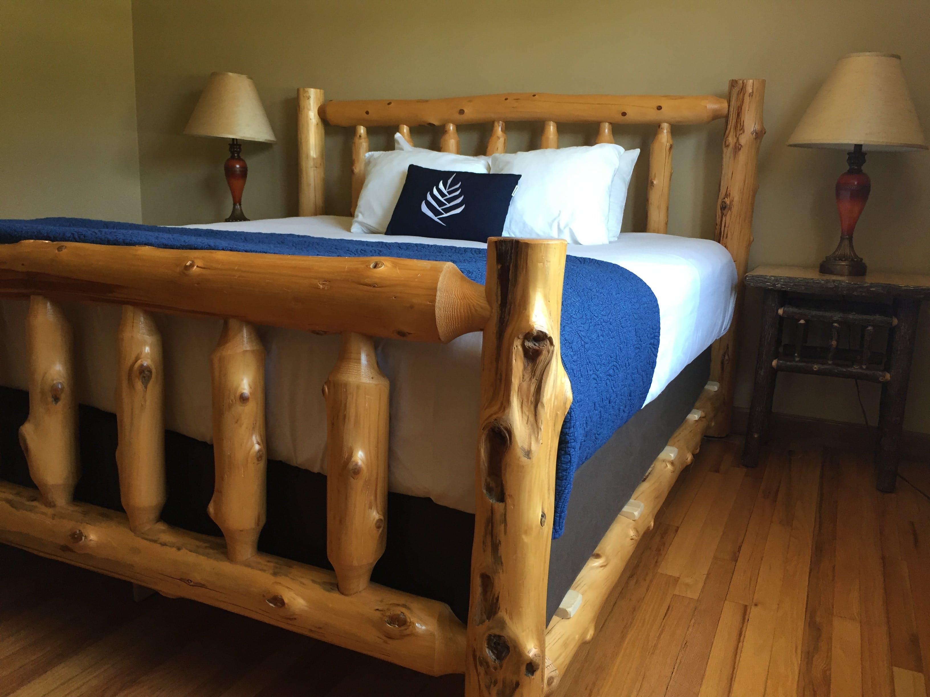 Letto A Castello Twins.Rustic Cottage Suite Budget Lodging Saint Clair