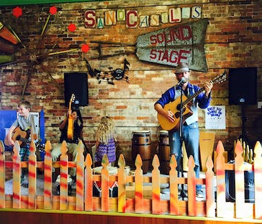 Sandcastles Children's Museum - Chad takes the music stage