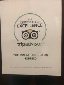 TripAdvisor 2016 Certificate of Excellence