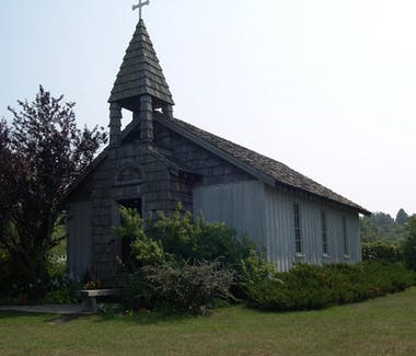Historic White Pine Village - Chapel Exterior