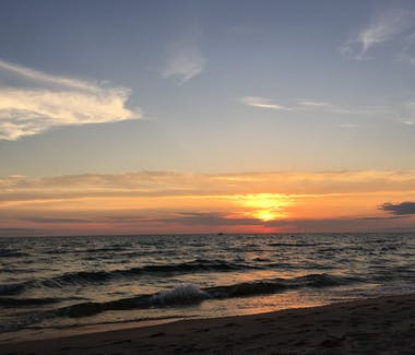 Ludington State Park - Sunset