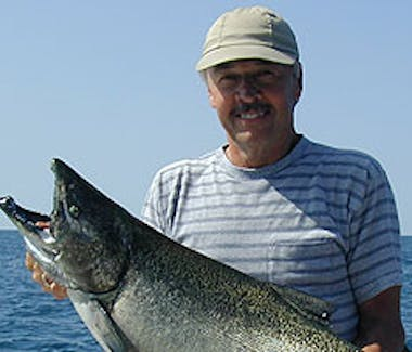 Ludington Area Charter Boats & Lake Michigan Charter Fishing - Bring a cap, a smile and a fishing license.