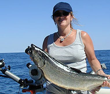 Ludington Area Charter Boats & Lake Michigan Charter Fishing - No Experience Needed
