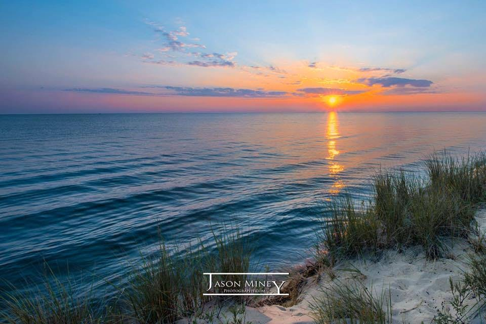 Sunset in Ludington Statepark