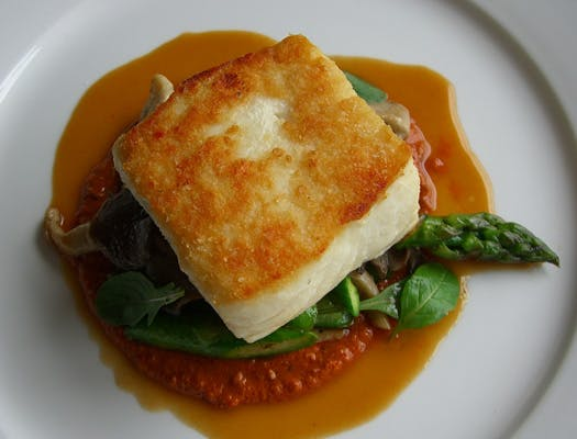 halibut, fish, dining out, Terripan, bodega bay inn