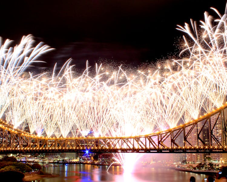 Brisbane Fireworks New Years Eve