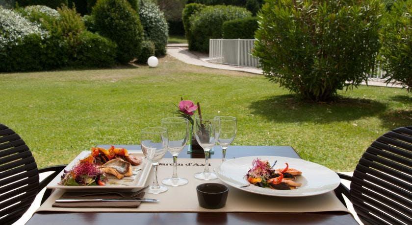 Restaurant le jardin d 39 axel best western marseille - Restaurant le jardin marseille ...