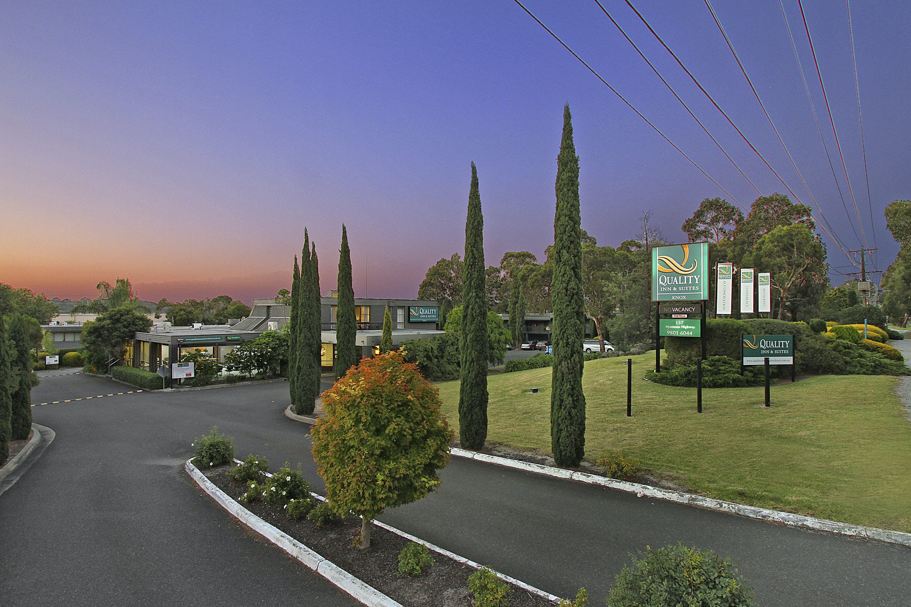 Quality Inn & Suites Knox is ideally located in Wantirna, just off Eastlink M3
