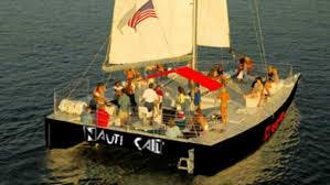 Always a party aboard NautiCat!