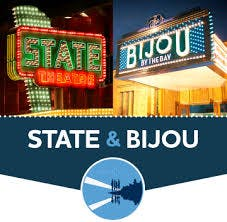 The fabulous State and Bijou theaters!