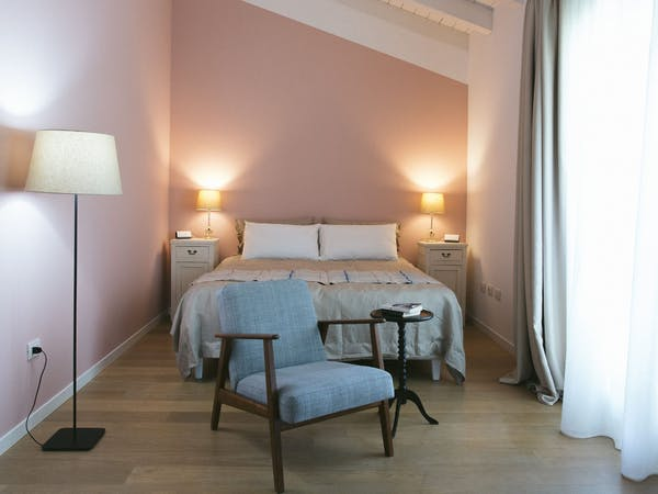 The Pink Double Room