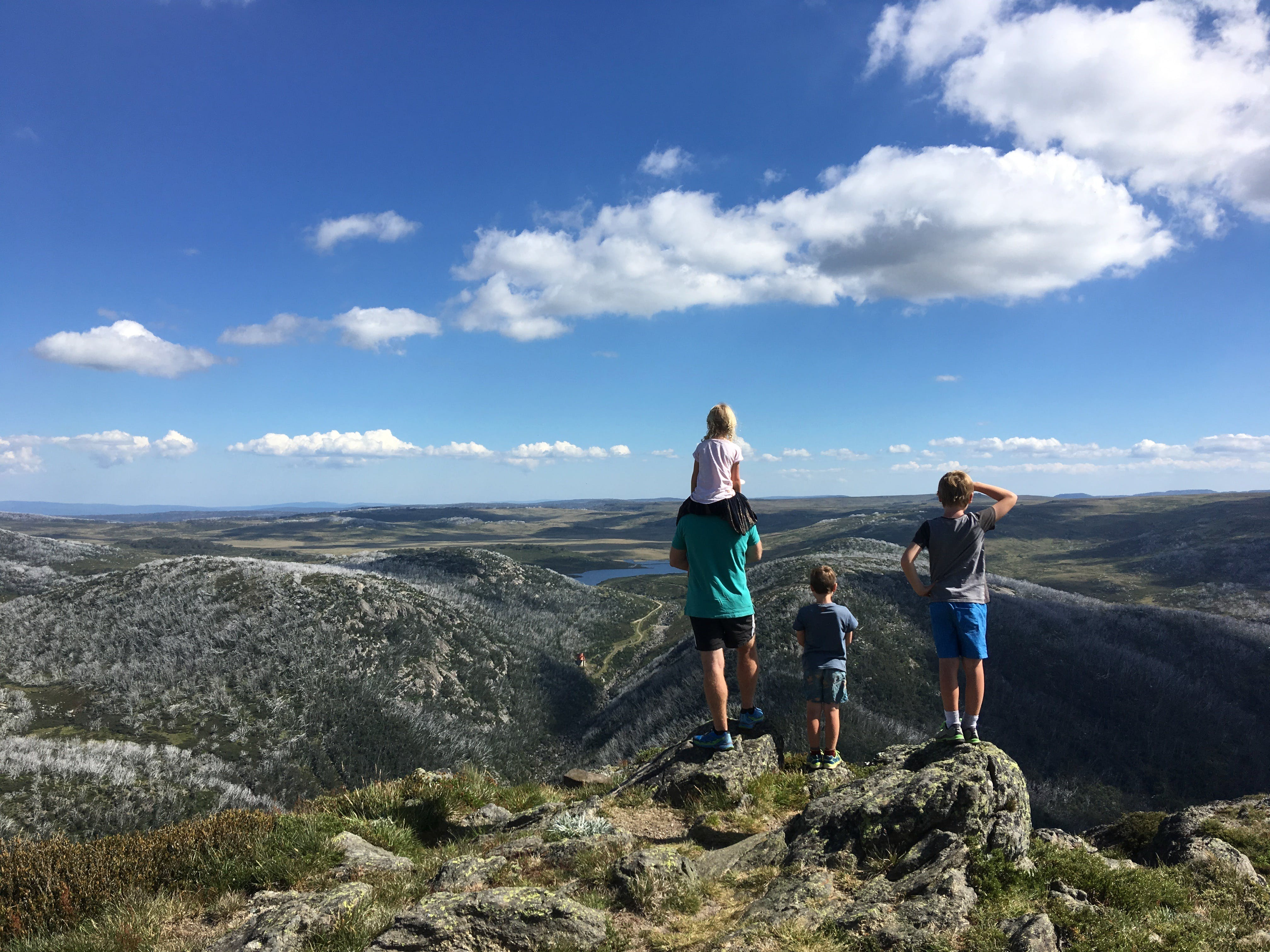 Looking out over the Bogong High Plains