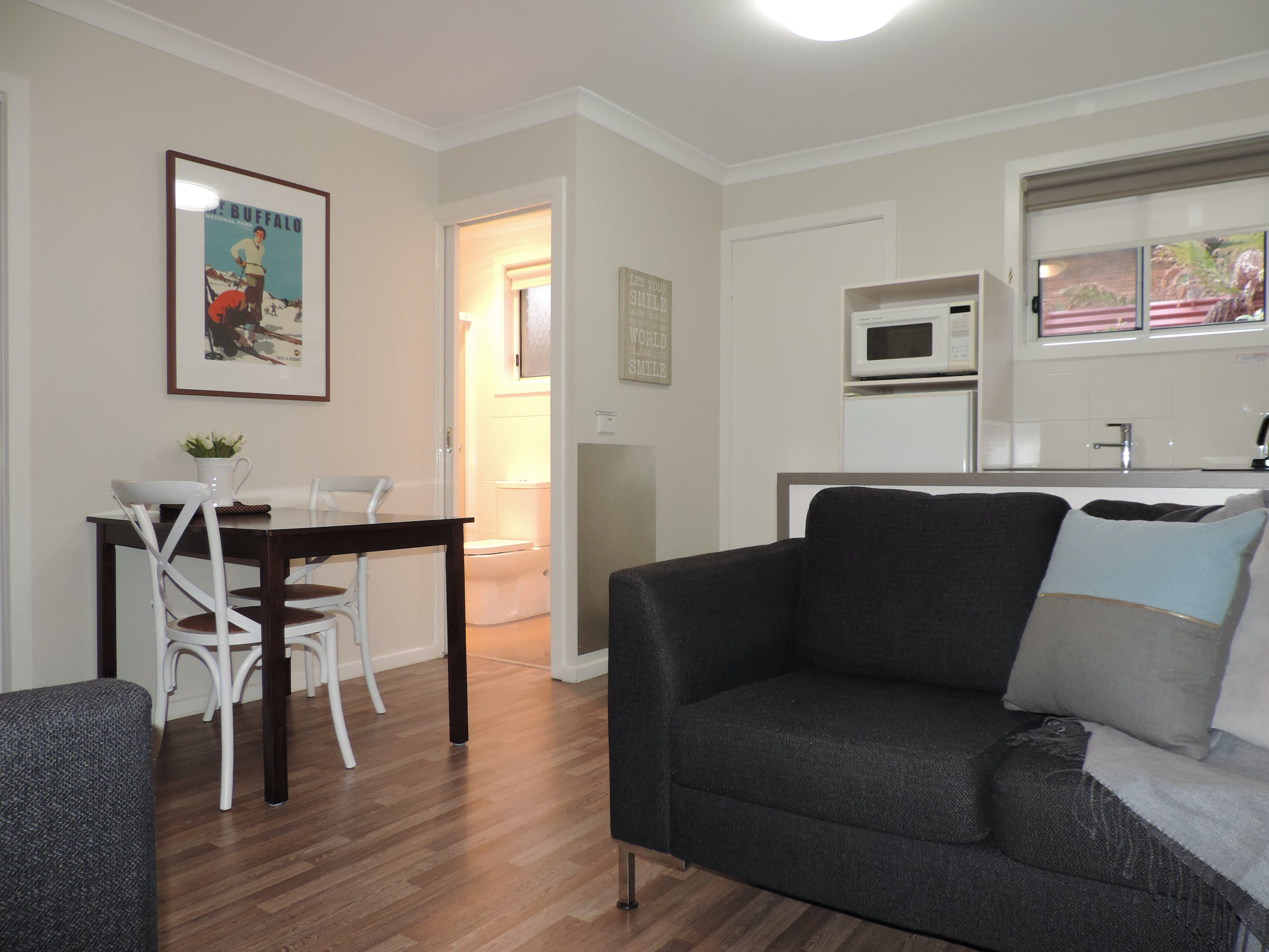 Apartment 2 - Open plan living & dining room