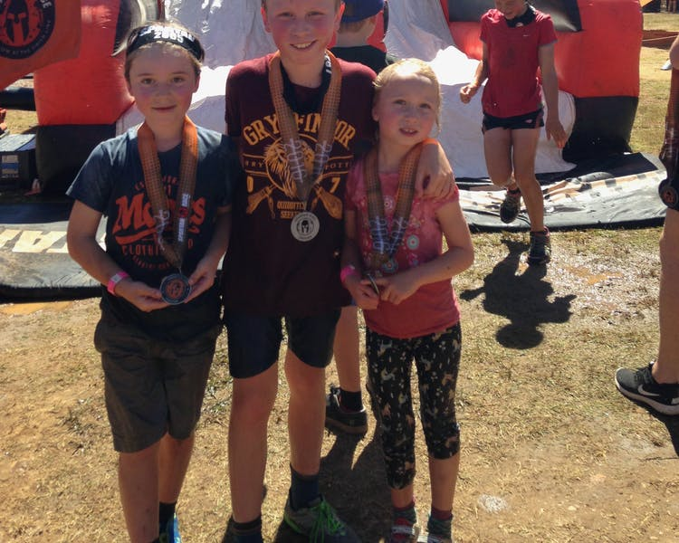 Spartan Race Kids at the Bright Event