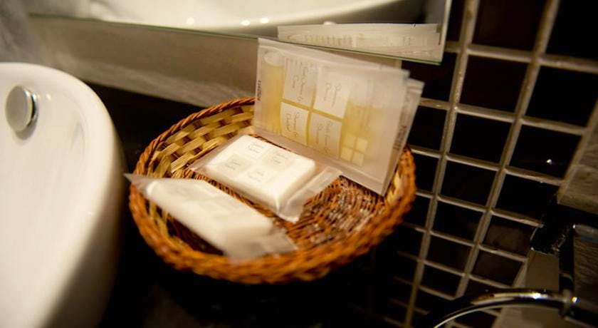 Our amenity lines include soaps, shampoos..